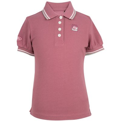 Рубашка-поло для девочек Land Rover Girls Polo Shirt, Dusky Pink