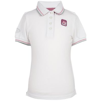 Рубашка-поло для девочек Land Rover Girls Polo Shirt, White