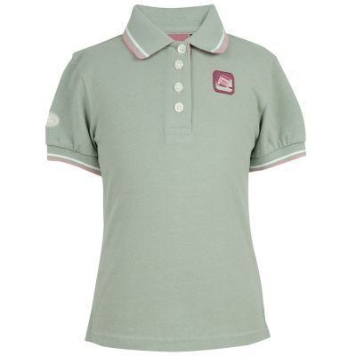 Рубашка-поло для девочек Land Rover Girls Polo Shirt, Mint Green