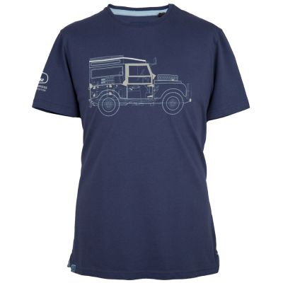 Мужская футболка Land Rover Men's Defender Graphic T-Shirt, Navy