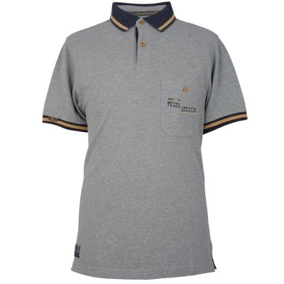 Мужская рубашка-поло Land Rover Men's Heritage Polo Shirt, Grey Marl