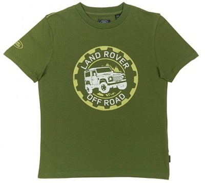 Футболка для мальчиков Land Rover Boys Off-road Graphic T-shirt, Green
