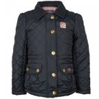 Стеганая куртка для девочек Land Rover Girls' Quilted Jacket, Navy