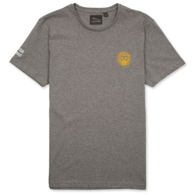 Мужская футболка Jaguar Men's Growler Graphic T-shirt, Grey Marl