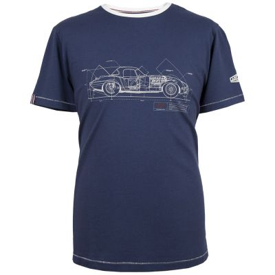 Мужская футболка Jaguar Men's Heritage Graphic T-Shirt, Navy