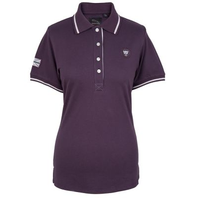 Женская рубашка-поло Jaguar Women's Growler Graphic Polo Shirt, Plum