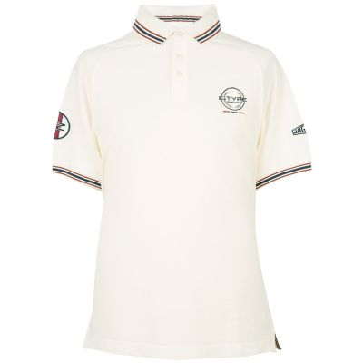 Мужская рубашка-поло Jaguar Men's Heritage Polo Shirt, Cream