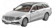 Модель Mercedes-Benz E-Class, Estate, Exclusive, Iridium Silver, 1:18 Scale