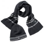 Набор из шапки и шарфа Mercedes-Benz Hat and Scarf Set, Anthracite