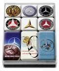 Набор магнитов Mercedes-Benz Set of Magnets, Classic