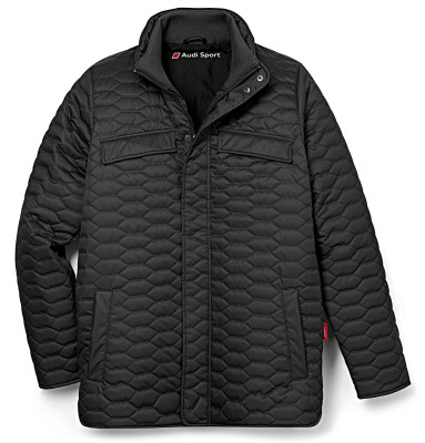 Мужская куртка Audi Mens Quilted Jacket, Audi Sport, Black