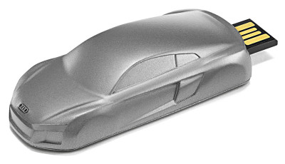 Флешка Audi USB Stick R8 sculpture 8 GB, Grey