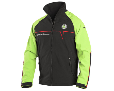 Мужская куртка Skoda Softshell Jacket, Men's, Motorsport