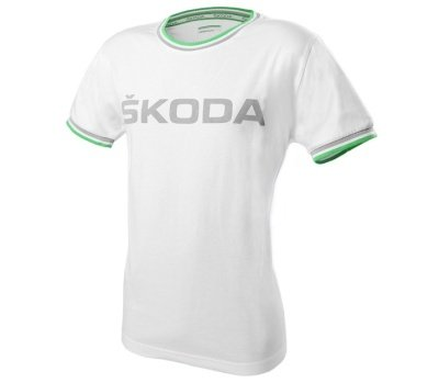 Мужская футболка Skoda Men's T-Shirt, White, Event