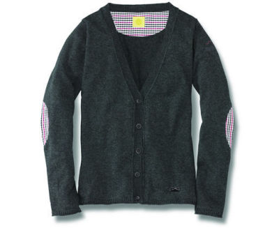 Женский кардиган Volkswagen Beetle Cardigan, Ladies, Grey