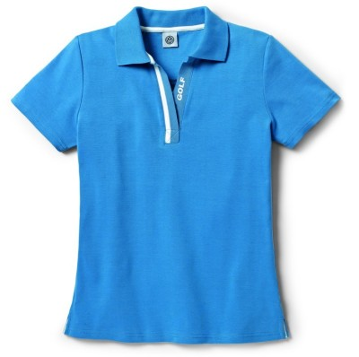 Женская рубашка-поло Volkswagen Golf Polo-Shirt, Ladies, Blue