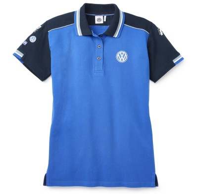 Женская рубашка-поло Volkswagen Motorsport Polo-Shirt, Ladies, Blue