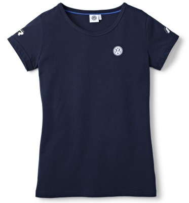 Женская футболка Volkswagen Motorsport T-Shirt, Ladies, Dark Blue