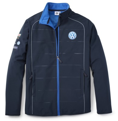 Мужская куртка софтшелл Volkswagen Motorsport Softshell Jacket, Men's, Blue