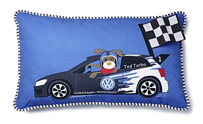 Детская подушка Volkswagen Kids Pillow Ted Turbo, Blue