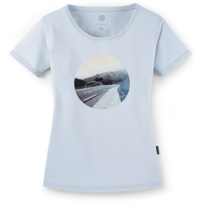 Женская футболка Volkswagen T-Shirt, Ladies, Think Blue, Light Blue