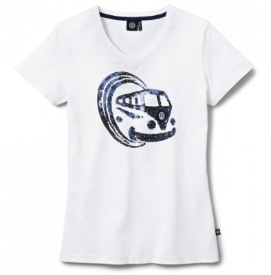 Женская футболка Volkswagen T1 Bulli T-Shirt, Ladies, White
