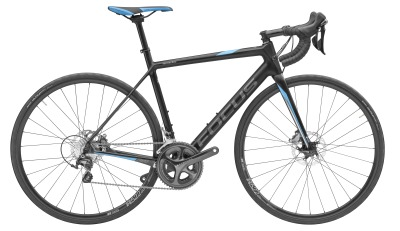 Гоночный велосипед Mercedes-Benz Cayo Disc Racing Bike, FOCUS Bikes, Black