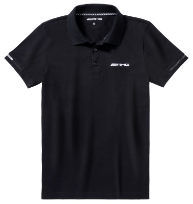 Мужская рубашка-поло Mercedes-Benz AMG 50 Years, Men's Polo Shirt, Black
