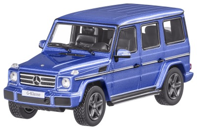 Модель Mercedes-Benz G-Class, W463, Model year 2015, Mauritius Blue, Scale 1:43