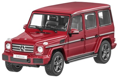 Модель Mercedes-Benz G-Class, W463, Model year 2015, Fire Opal