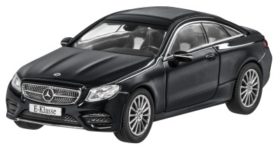 Модель Mercedes-Benz E-Class Coupé (C238), AMG Line, Scale 1:43, Obsidian Black