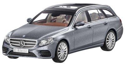 Модель Mercedes-Benz E-Class Estate, AMG Line, Selenite Grey, Scale 1:43