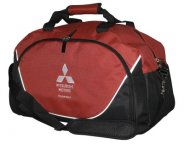 Спортивная сумка Mitsubishi Sports Bag, Black-Red