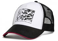Бейсболка Audi Sport Cap, Comic Series, Unisex, black/white