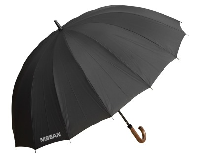 Зонт-трость Nissan Stick Umbrella, Extra Strong, Black