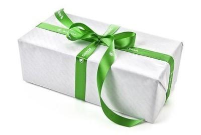 Лента для упаковки подарков Skoda Green Ribbon