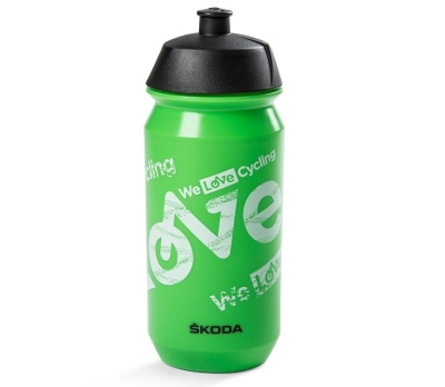 Велосипедная бутылочка для воды Skoda Cycling Bottle, Green