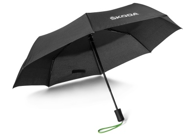Складной зонт Skoda Folding Umbrella Aquaprint Technology, Black