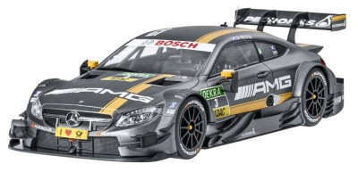 Модель Mercedes-AMG C 63 DTM, 2016, Paul Di Resta, Grey, 1:18 Scale