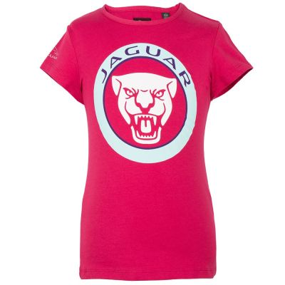 Футболка для девочек Jaguar Girls' Growler Graphic T-Shirt, Pink