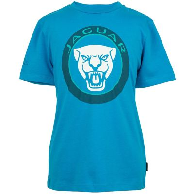 Футболка для мальчиков Jaguar Boys' Growler Graphic T-Shirt, Light Blue