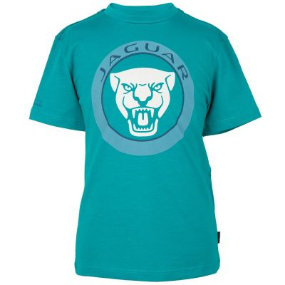 Футболка для мальчиков Jaguar Boys' Growler Graphic T-Shirt, Turquoise