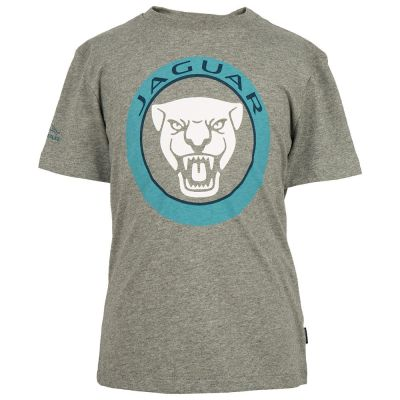 Футболка для мальчиков Jaguar Boys' Growler Graphic T-Shirt, Grey Marl