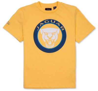 Футболка для мальчиков Jaguar Boys' Growler Graphic T-Shirt, Yellow