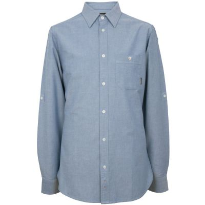 Мужская рубашка Land Rover Men's Oxford Shirt, Blue