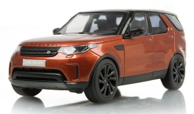 Масштабная модель Land Rover Discovery, Namib Orange, 1:43 Scale
