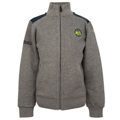 Толстовка для мальчиков Land Rover Boys Full Zip Sweatshirt, Grey Marl