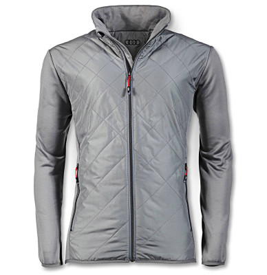Мужская демисезонная куртка Audi Mens Midlayer Jacket, Dark Grey