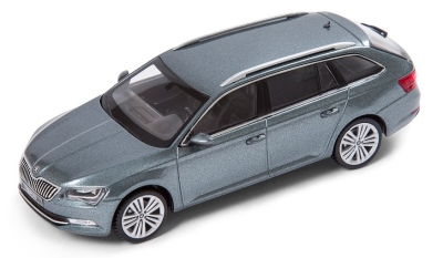 Модель автомобиля Skoda Superb Combi III, 1:43 scale, Metal Grey