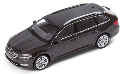Модель автомобиля Skoda Superb Combi III, 1:43 scale, Magnetic Brown